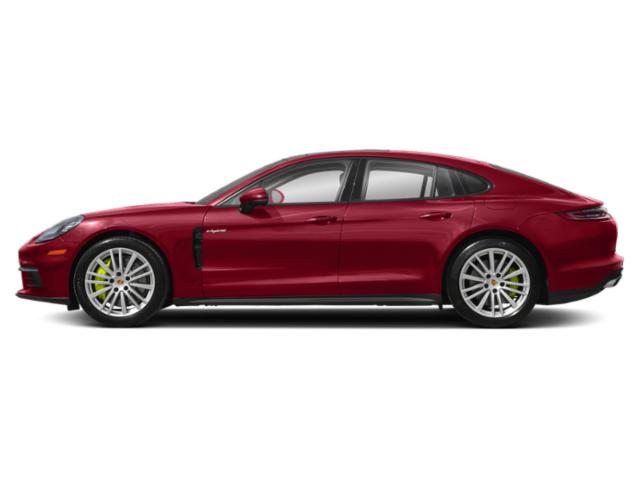Carmine Red 2018 Porsche Panamera Pictures Panamera 4 E-Hybrid AWD photos side view