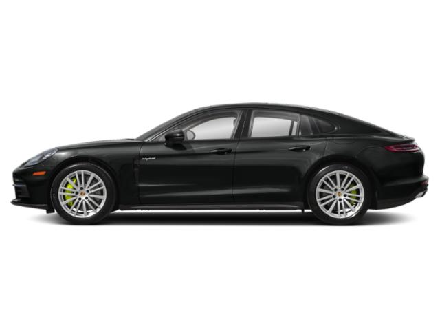 Jet Black Metallic 2018 Porsche Panamera Pictures Panamera 4 E-Hybrid AWD photos side view