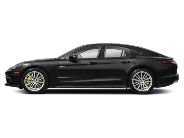 Black 2018 Porsche Panamera Pictures Panamera 4 E-Hybrid AWD photos side view