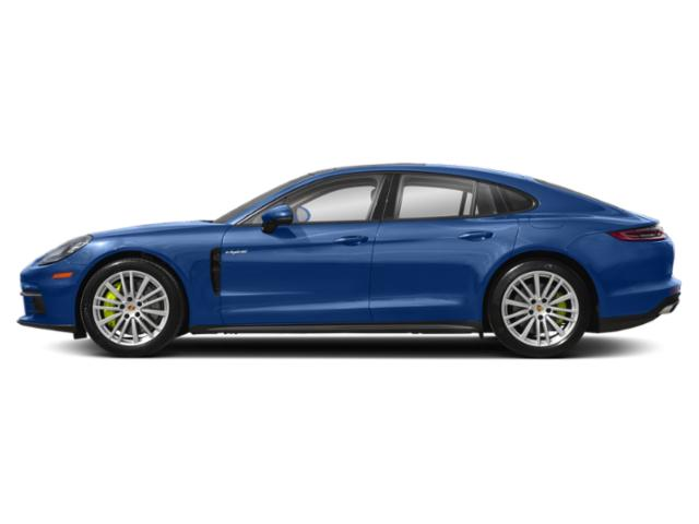 Sapphire Blue Metallic 2018 Porsche Panamera Pictures Panamera 4 E-Hybrid AWD photos side view