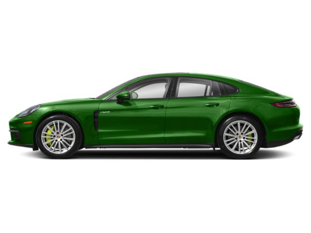 Mamba Green Metallic 2018 Porsche Panamera Pictures Panamera 4 E-Hybrid AWD photos side view