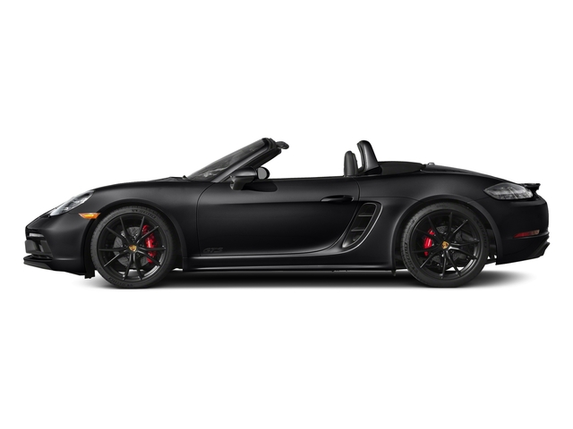 Black 2018 Porsche 718 Boxster Pictures 718 Boxster GTS Roadster photos side view