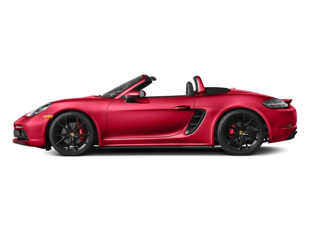 Guards Red 2018 Porsche 718 Boxster Pictures 718 Boxster GTS Roadster photos side view