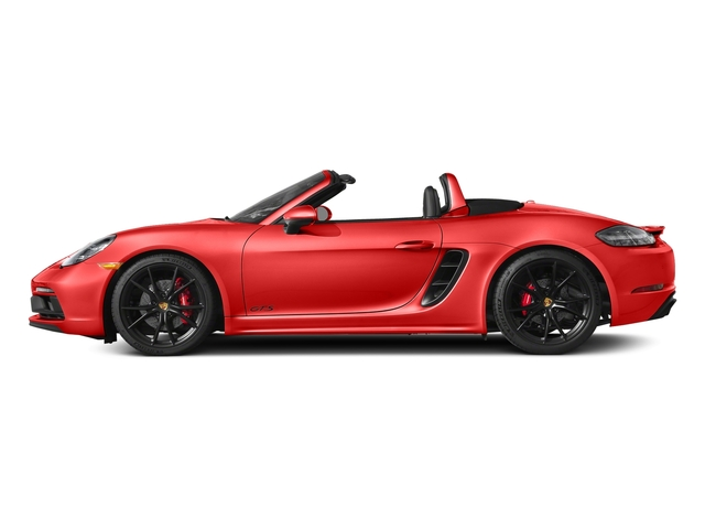 Lava Orange 2018 Porsche 718 Boxster Pictures 718 Boxster GTS Roadster photos side view