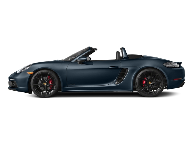 Night Blue Metallic 2018 Porsche 718 Boxster Pictures 718 Boxster GTS Roadster photos side view