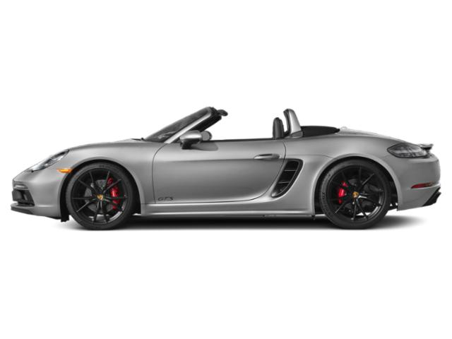GT Silver Metallic 2018 Porsche 718 Boxster Pictures 718 Boxster GTS Roadster photos side view