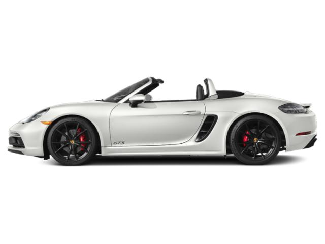 White 2018 Porsche 718 Boxster Pictures 718 Boxster GTS Roadster photos side view