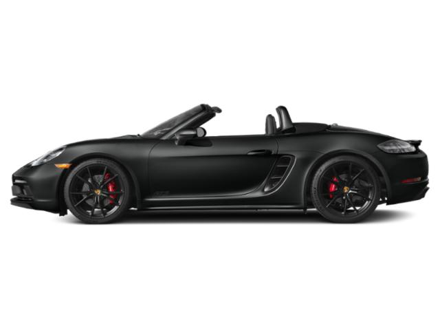 Jet Black Metallic 2018 Porsche 718 Boxster Pictures 718 Boxster GTS Roadster photos side view