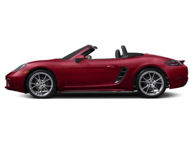 Carmine Red 2018 Porsche 718 Boxster Pictures 718 Boxster Roadster photos side view
