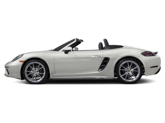 White 2018 Porsche 718 Boxster Pictures 718 Boxster Roadster photos side view