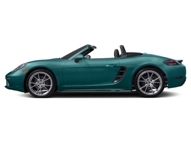 Miami Blue 2018 Porsche 718 Boxster Pictures 718 Boxster Roadster photos side view