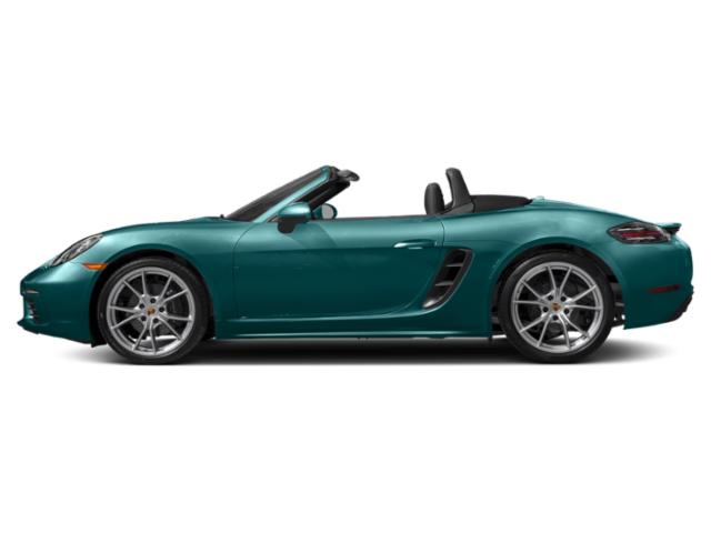 Miami Blue 2018 Porsche 718 Boxster Pictures 718 Boxster S Roadster photos side view