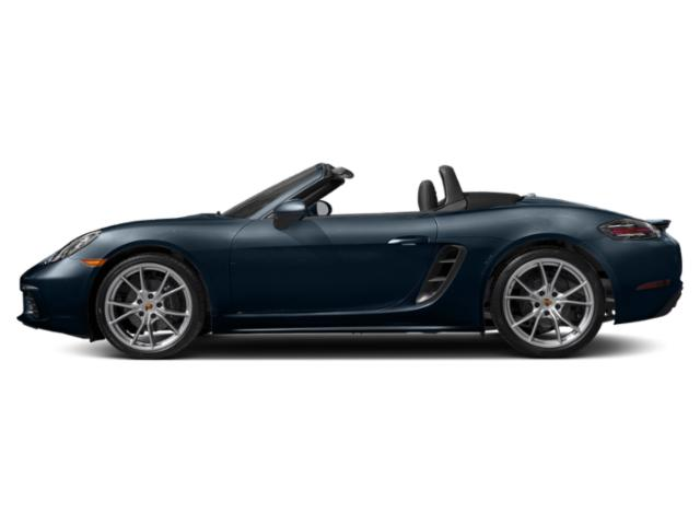 Night Blue Metallic 2018 Porsche 718 Boxster Pictures 718 Boxster S Roadster photos side view
