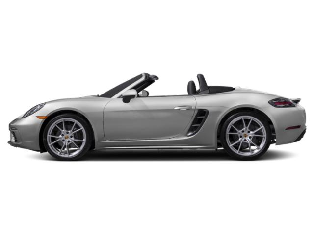 GT Silver Metallic 2018 Porsche 718 Boxster Pictures 718 Boxster Roadster photos side view