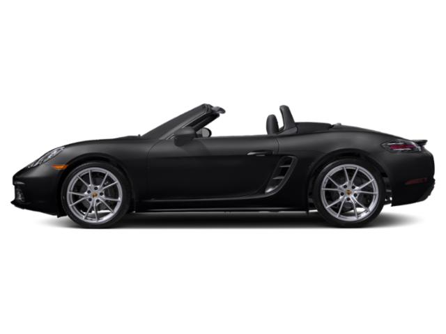 Black 2018 Porsche 718 Boxster Pictures 718 Boxster Roadster photos side view
