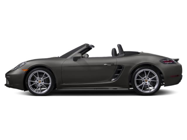 Agate Grey Metallic 2018 Porsche 718 Boxster Pictures 718 Boxster Roadster photos side view