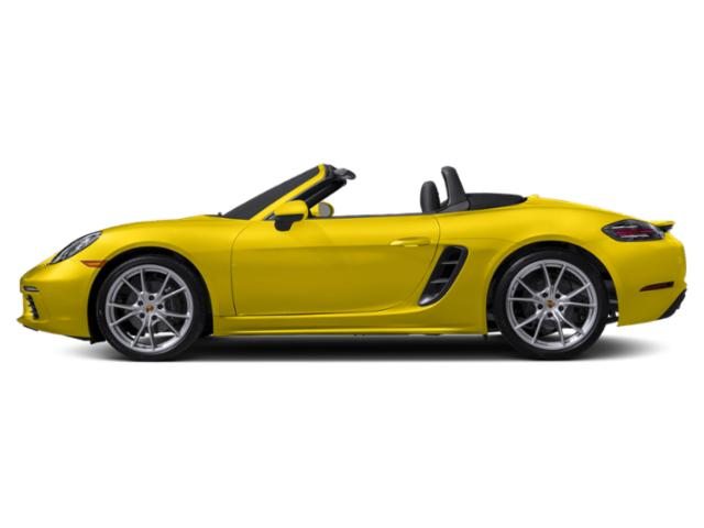 Racing Yellow 2018 Porsche 718 Boxster Pictures 718 Boxster Roadster photos side view