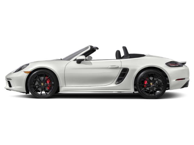 White 2018 Porsche 718 Boxster Pictures 718 Boxster S Roadster photos side view