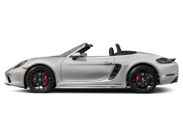 Carrara White Metallic 2018 Porsche 718 Boxster Pictures 718 Boxster S Roadster photos side view