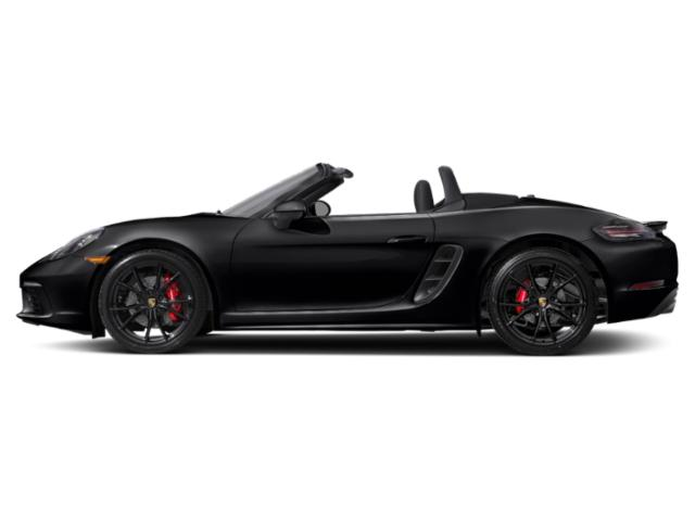 Black 2018 Porsche 718 Boxster Pictures 718 Boxster S Roadster photos side view