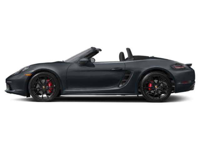 Graphite Blue Metallic 2018 Porsche 718 Boxster Pictures 718 Boxster S Roadster photos side view
