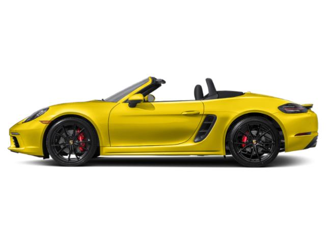 Racing Yellow 2018 Porsche 718 Boxster Pictures 718 Boxster S Roadster photos side view