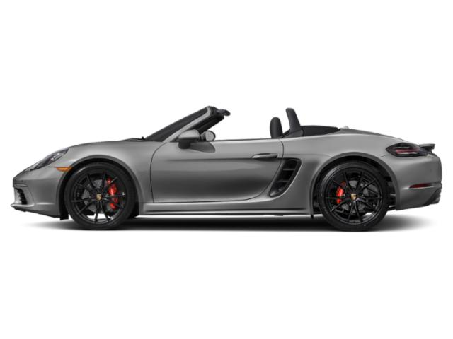 Chalk 2018 Porsche 718 Boxster Pictures 718 Boxster Roadster 2D S H4 Turbo photos side view