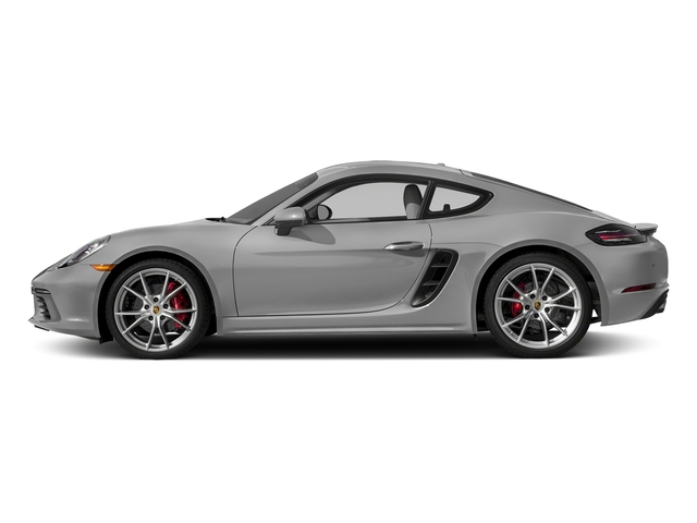Rhodium Silver Metallic 2018 Porsche 718 Cayman Pictures 718 Cayman S Coupe photos side view