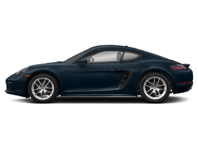Night Blue Metallic 2018 Porsche 718 Cayman Pictures 718 Cayman Coupe photos side view