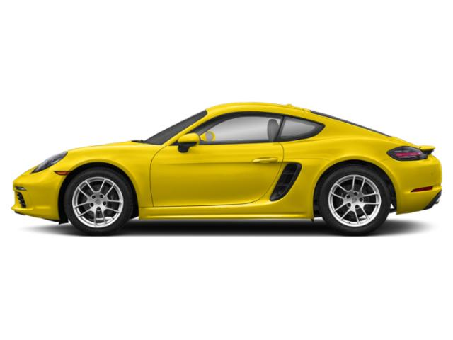 Racing Yellow 2018 Porsche 718 Cayman Pictures 718 Cayman Coupe photos side view