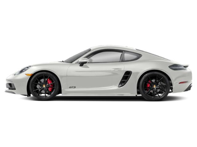 White 2018 Porsche 718 Cayman Pictures 718 Cayman Coupe 2D GTS H4 Turbo photos side view
