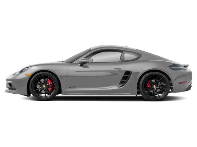 GT Silver Metallic 2018 Porsche 718 Cayman Pictures 718 Cayman Coupe 2D GTS H4 Turbo photos side view