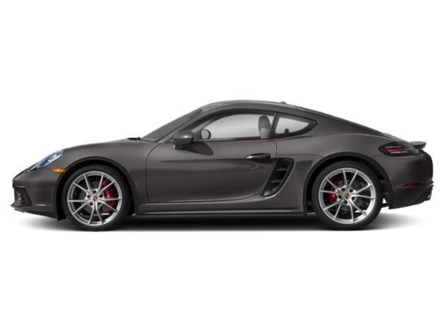 Agate Grey Metallic 2018 Porsche 718 Cayman Pictures 718 Cayman Coupe 2D S H4 Turbo photos side view