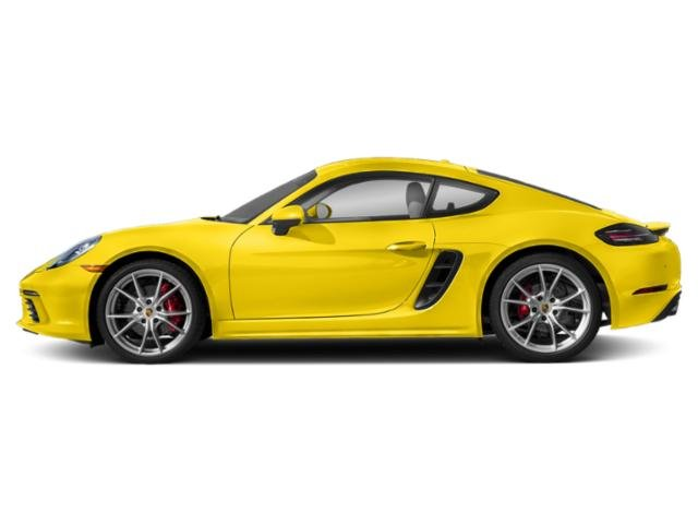 Racing Yellow 2018 Porsche 718 Cayman Pictures 718 Cayman S Coupe photos side view