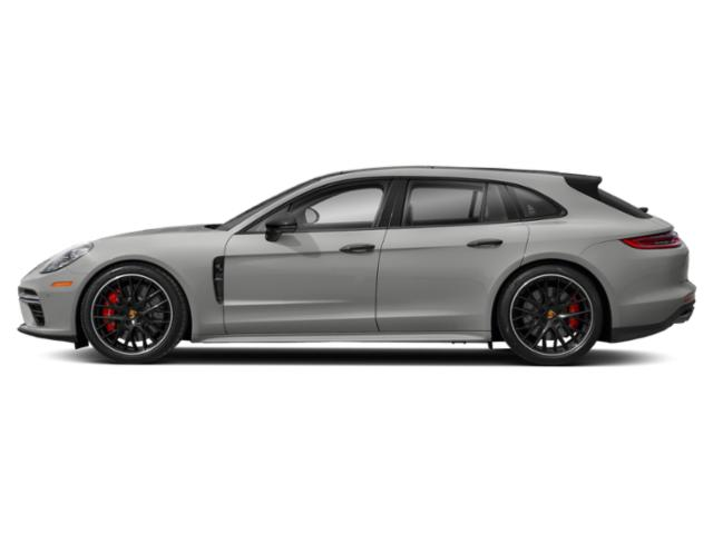 Chalk 2018 Porsche Panamera Pictures Panamera 4 Sport Turismo AWD photos side view