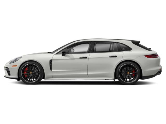 White 2018 Porsche Panamera Pictures Panamera 4 Sport Turismo AWD photos side view