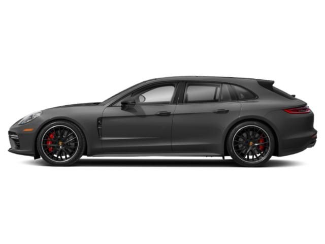 Volcano Grey Metallic 2018 Porsche Panamera Pictures Panamera 4 Sport Turismo AWD photos side view