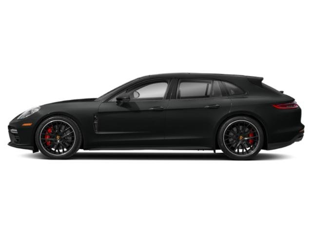 Jet Black Metallic 2018 Porsche Panamera Pictures Panamera 4 Sport Turismo AWD photos side view