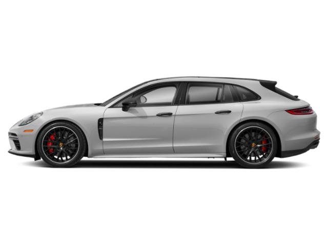 Carrara White Metallic 2018 Porsche Panamera Pictures Panamera 4 Sport Turismo AWD photos side view