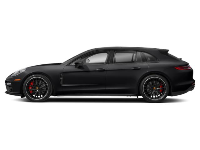 Black 2018 Porsche Panamera Pictures Panamera 4 Sport Turismo AWD photos side view