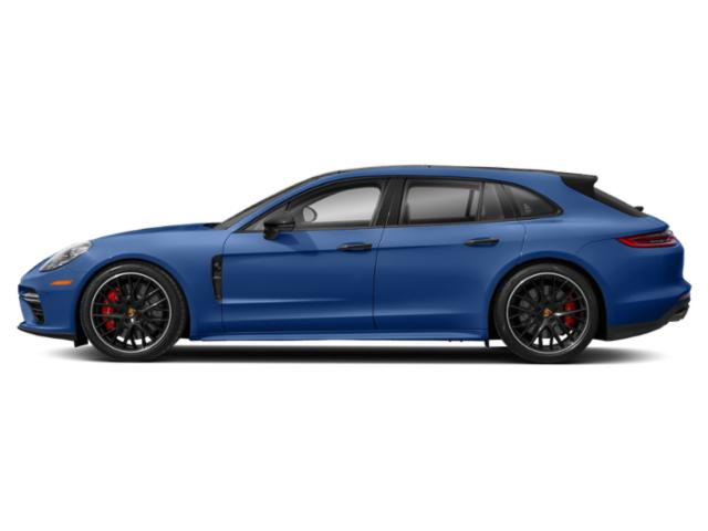 Sapphire Blue Metallic 2018 Porsche Panamera Pictures Panamera 4 Sport Turismo AWD photos side view