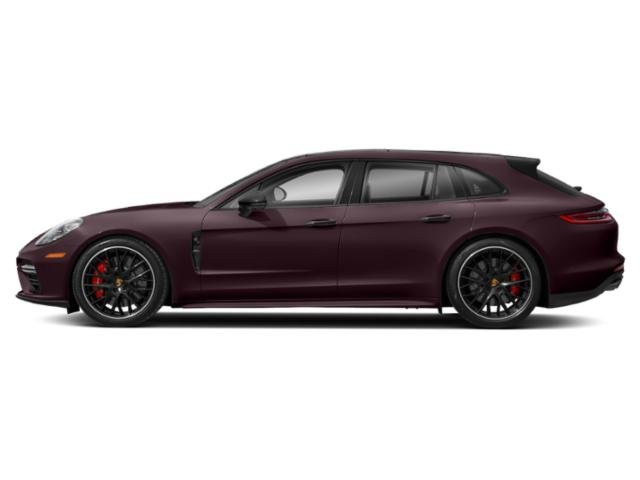 Burgundy Red Metallic 2018 Porsche Panamera Pictures Panamera 4 Sport Turismo AWD photos side view
