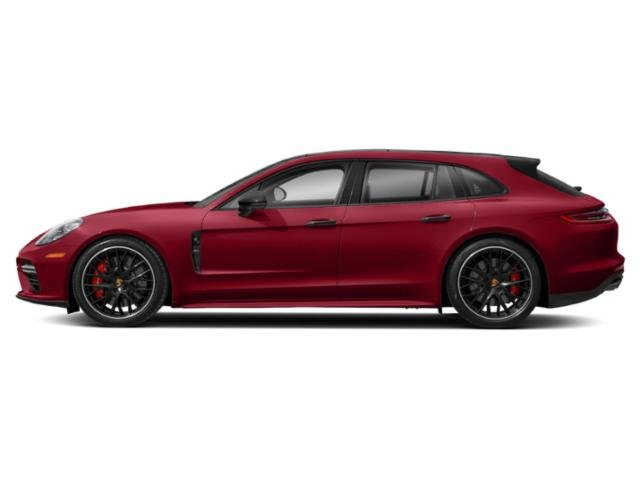 Carmine Red 2018 Porsche Panamera Pictures Panamera 4 Sport Turismo AWD photos side view