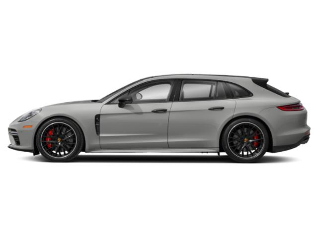 Chalk 2018 Porsche Panamera Pictures Panamera Turbo Sport Turismo AWD photos side view