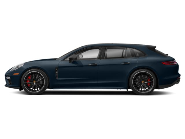 Night Blue Metallic 2018 Porsche Panamera Pictures Panamera 4 Sport Turismo AWD photos side view