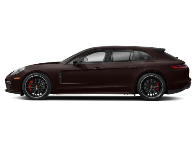 Mahogany Metallic 2018 Porsche Panamera Pictures Panamera 4 Sport Turismo AWD photos side view