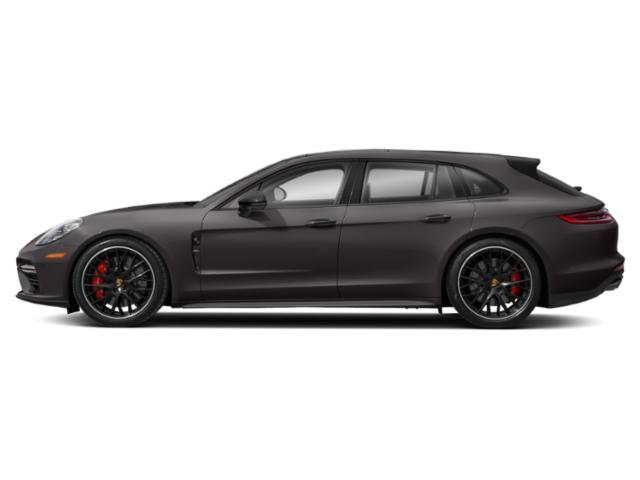 Agate Grey Metallic 2018 Porsche Panamera Pictures Panamera Turbo Sport Turismo AWD photos side view