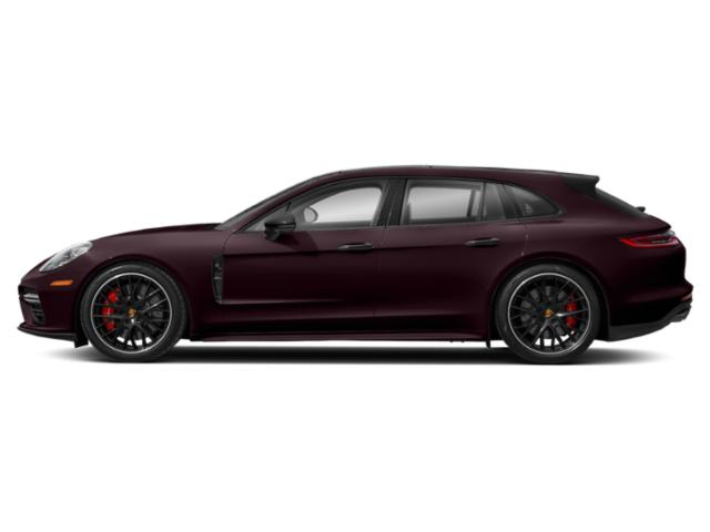 Burgundy Red Metallic 2018 Porsche Panamera Pictures Panamera Turbo Sport Turismo AWD photos side view