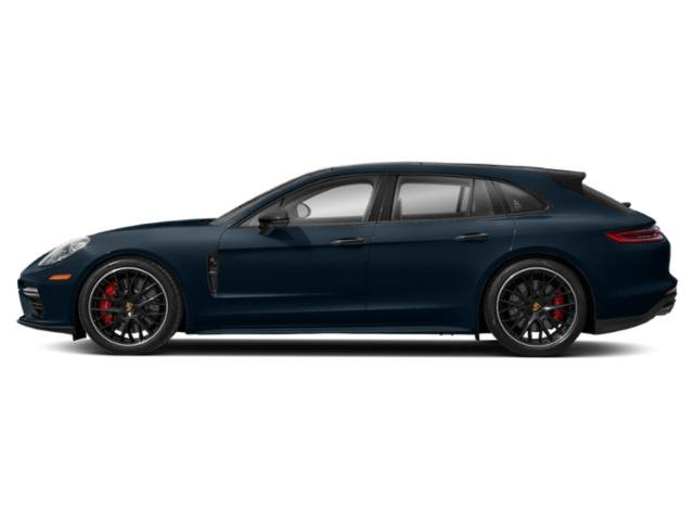 Night Blue Metallic 2018 Porsche Panamera Pictures Panamera Turbo Sport Turismo AWD photos side view