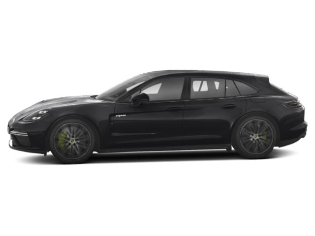 Black 2018 Porsche Panamera Pictures Panamera Turbo S E-Hybrid Sport Turismo AWD photos side view